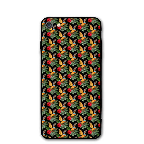 Bouquet Top Pillow (APPCLL. iPhone 7 Case. Tropical Flower Shock Absorption PC Material Cover Case Drop Protection Phone Case for iPhone 7/8)