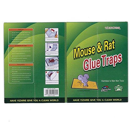 LOERO Piège à Souris Pest Repeller Rat Anti-Rat Sticky Conseil Sûr et Respectueux De L'environnement Non-Toxique Souris Sticky Souris Conseil 5pcs pour Cuisine Boutique Hôtel Jardin