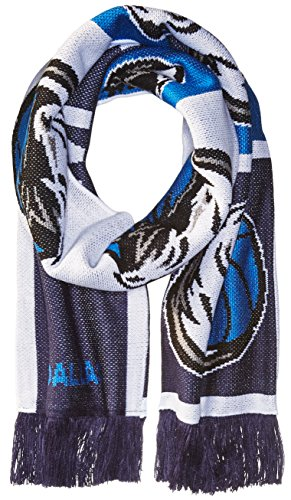 Dallas Mavericks Flag (NBA Dallas Mavericks Unisex Repeating Logo Scarf, Navy, One Size)