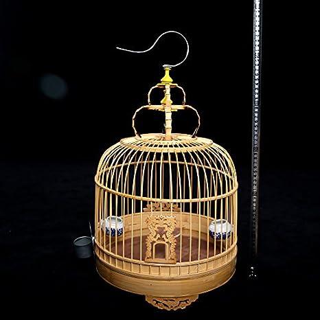 Pet Online Alondra pájaro los pájaros de jaula pequeña jaula de ...
