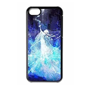 D-PAFD Print Frozen Pattern PC Hard Case for iPhone 5C