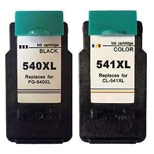 Pack ahorro cartuchos canon compatibles pg540xl / cl541xl
