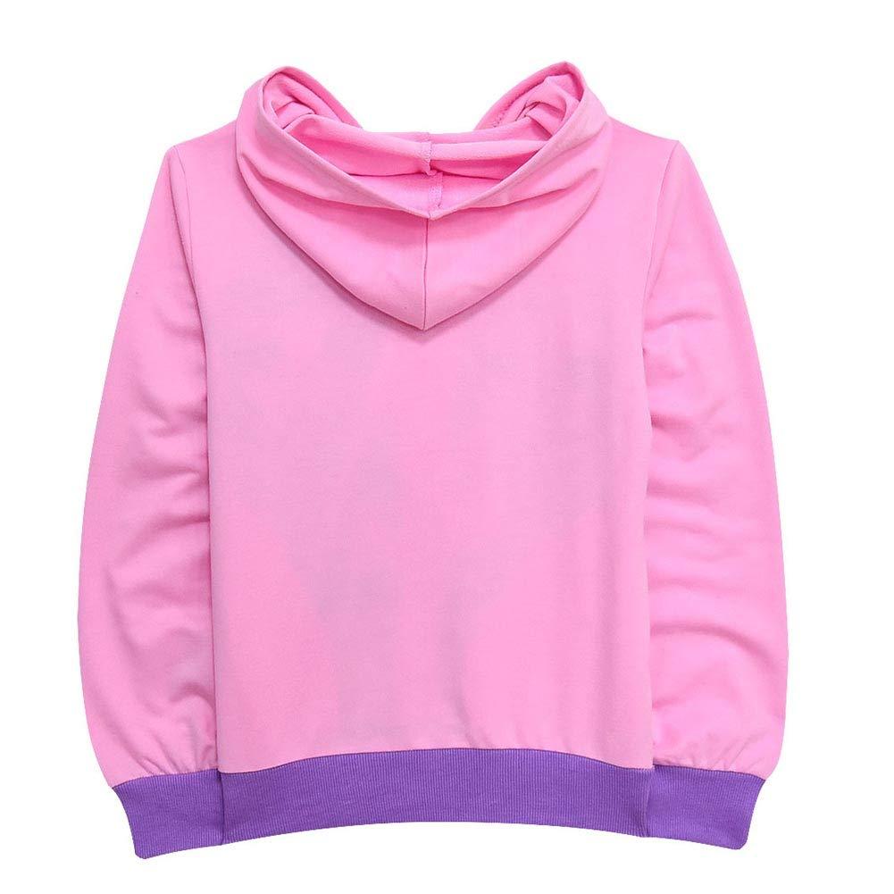 Amazon.com: zaring - Sudadera con capucha para niña: Clothing
