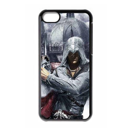 Ezio Auditore Da Firenze 018 coque iPhone 5C Housse téléphone Noir de couverture de cas coque EOKXLLNCD15473