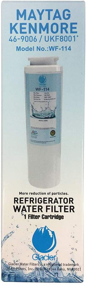AF UKF8001 Replacement For Whirlpool Maytag, 4396395, EDR4RXD1, Pur Filter 4, Kenmore 46-9005, Refrigerator Water Filter