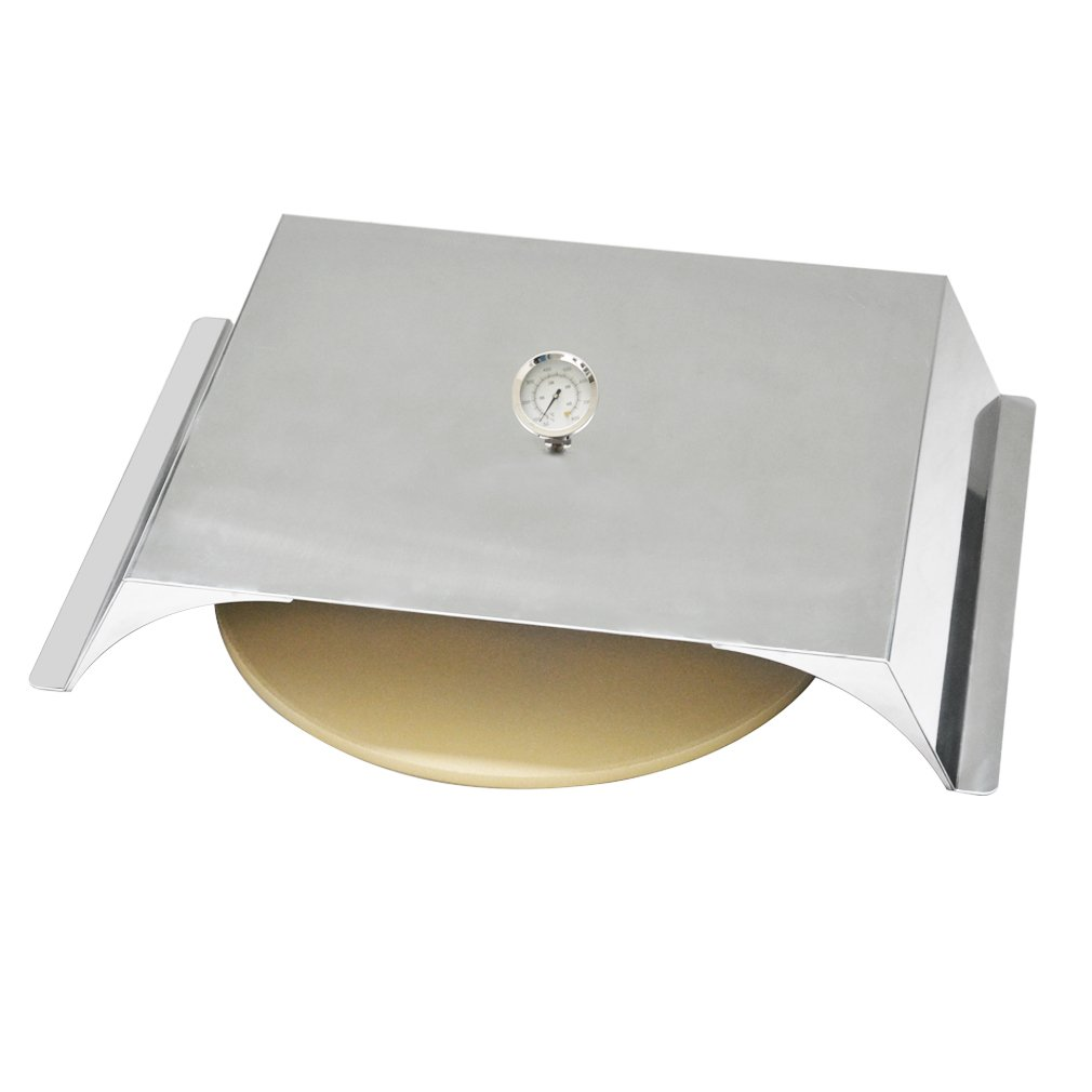 Skyflame Stainless Steel Pizza Oven Kit for Gas Grills, 22x15 Inches