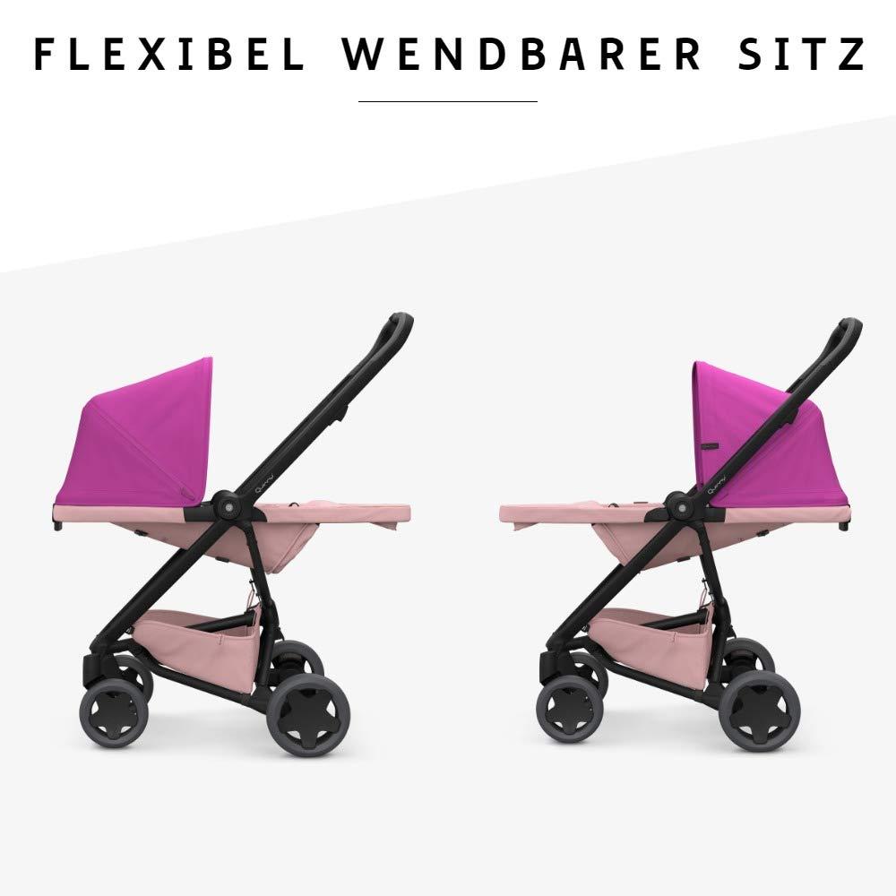 z.B. mit Lux Babywanne leicht und extrem kompakt zusammenfaltbar blue on sky Quinny Zapp Flex Plus Vier R/äder Buggy stylischer Kinderwagen mit viel Komfort und Flexibilit/ät nutzbar ab der Geburt