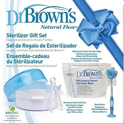 Dr. Brown's Microwave Sterilizer Set Warmers & Sterilizers at amazon