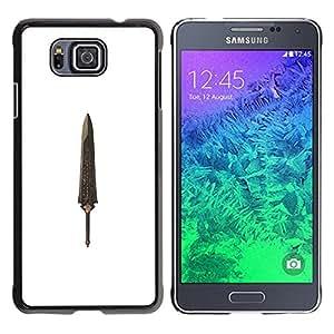 For Samsung GALAXY ALPHA G850 Case , Dagger Relic Treasure Knife - Diseño Patrón Teléfono Caso Cubierta Case Bumper Duro Protección Case Cover Funda