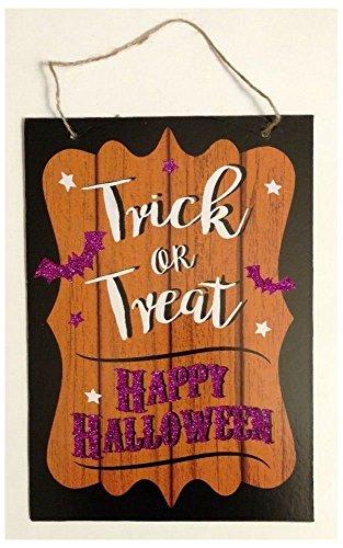 (NEW Happy Halloween Decor Wall Door Sign 13