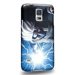 Case88 Premium Designs Hatake Kakashi Shippuden Protective Snap-on Hard Back Case Cover for Samsung Galaxy S5