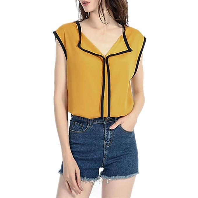0dc32f339 Geilisungren Camiseta de Tirantes para Mujer