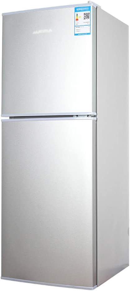 refrigerador de Doble Puerta, congelador, 88L, hogar pequeño ...