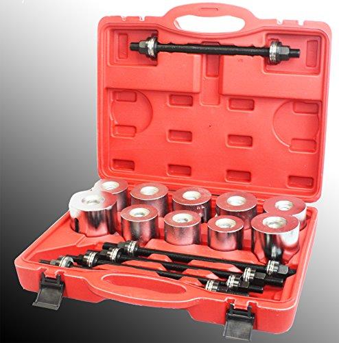 27pc Universal Press & Pull Sleeve Kit Bush Bearing Removal Insertion Tool Set