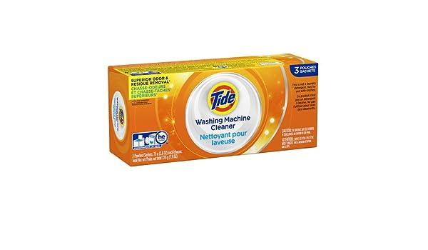 Marea lavadora limpiador 3 EA (3 PK): Amazon.es: Hogar