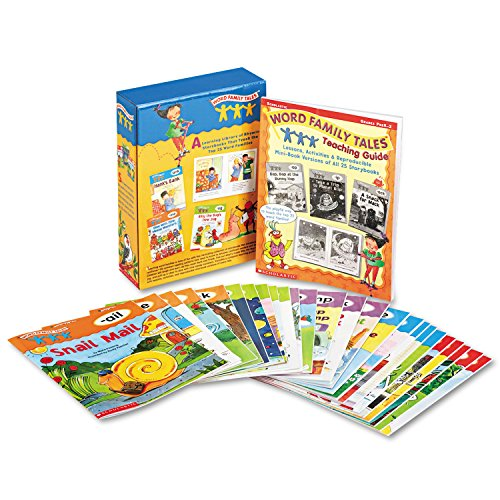 SHS054506774X - Scholastic Word Family Tales Teaching Guide (Families Words Rhyming Word)