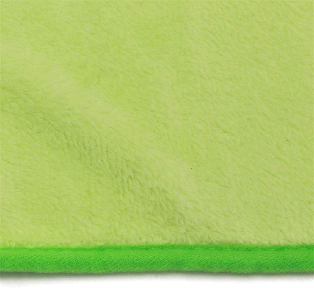 Green ULILICOO Pet Mat Blanket Super Soft Dog Cat Mattress Double-Sided Velvet Crate Mat Machine Washable Pet Bed Liner