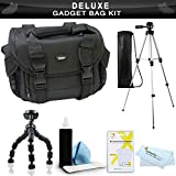 Essential Accessory Kit For Canon SX40 HS, SX30 IS, G1 X, G1X, SX520 HS, SX530 HS, SX540 HS, SX50 HS, SX60 HS, Powershot G15, Canon Powershot G16, G3 X Digital Camera Includes 50 Tripod + Case + More