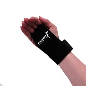 Powergrip Sport Leather Crossfit Grips Palm Protectors Hand