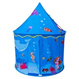 ALPIKA Kids Play Tent Children Playhouse As Birthday Gift With Carrying Case For Boys Girls Playing