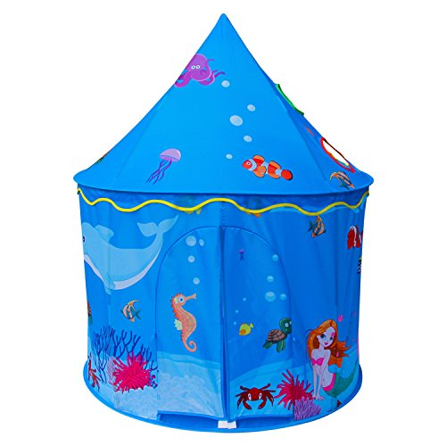ALPIKA Kids Play Tent Children Playhouse As Birthday Gift With Carrying Case For Boys Girls Playing by ALPIKA