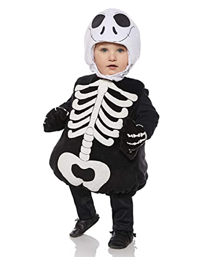 Horror-Shop Esqueleto Disfraz de niño pequeño L: Amazon.es ...