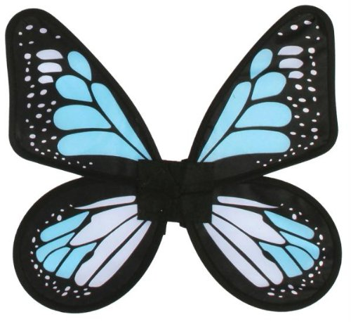 Fun World Satin Butterfly Wings Blue -
