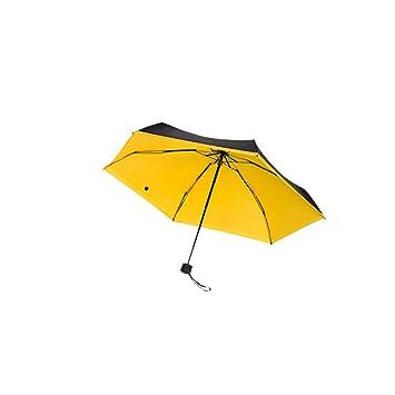 Paraguas de bolsillo Mini, 195 g viaje Ultra compacto y ligero anti-UV sombrilla