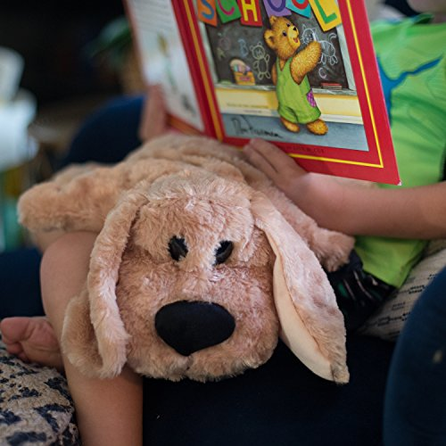 Weighted Lap Pad for Kids by Sootheze - 5 lbs Weighted Blanket - Washable - Great for Sensory Issues Such as ADHD, Autism, Anxiety, Stress - Drooper Sr. Stuffed Animal by Sootheze (Image #8)