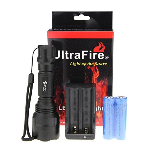 UltraFire® CREE T6 5 Mode LED C8 Ultrafire Flashlight Torch