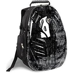 J World EAGLE Polycarbonate Laptop Backpack in Frost Black