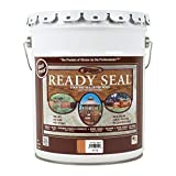 Ready Seal 512 Pail Exterior Wood Stain and Sealer, Natural Cedar, 5-Gallon