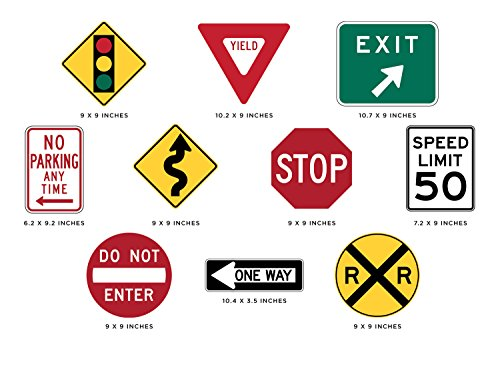 Review Sunny Decals Street Signs