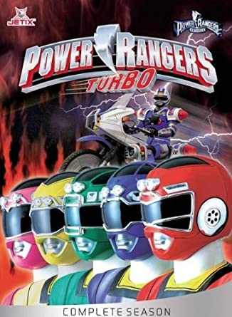 Power Rangers Turbo - Complete Season (5 DVDs) [European release] by Johnny
