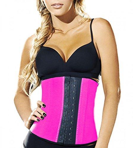 Ann Chery Women's Faja Deportiva Workout Waist Cincher, Pink, Large/36