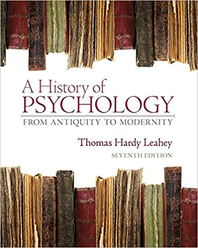 Amazon a history of psychology from antiquity to modernity a history of psychology from antiquity to modernity 7th edition 7th edition fandeluxe Gallery
