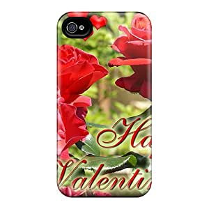 New Arrival Case Cover With Smn834xWhA Design For Iphone 4/4s- Happy Valentine Day