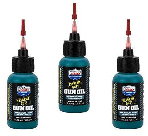 3 - LUCAS Extreme Duty Gun Oil 1oz Needle by Lucas