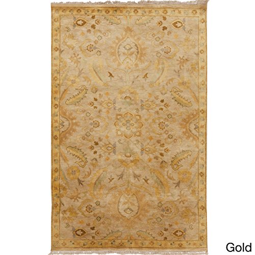 Surya TMS3004-23 Temptress Area Rug, 2' x 3', Beige/Gold/Olive - Rectangle Olive Rug
