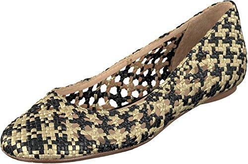 Allan K Daiba Handmade Flecht-Leder-Schuhe mit Ledersohle Damen Topaz