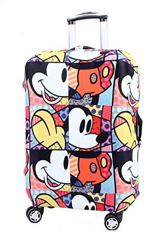 Washable Travel Luggage Cover Myosotis510 Funny Cartoon Suitcase Protector Fits 18-32 Inch Luggage