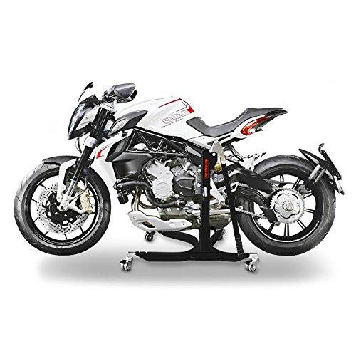 ConStands Power Classic-Zentralst/änder MV Agusta Brutale 800 Dragster//RR 14-18 Schwarz Matt Motorrad Aufbockst/änder Heber Montagest/änder