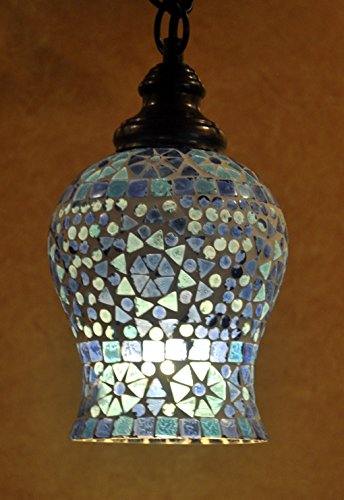Vintage Home Decorative Glass Ceiling Lamp Shade Pendant Hanging Light