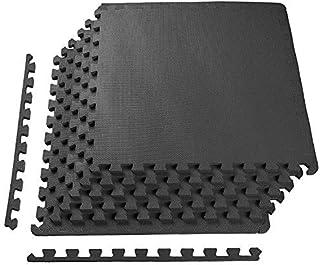 Negro Reebok Tri Fold Colchoneta Plegable Unisex Talla /Única