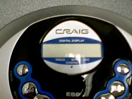 Craig Electronics International Ltd. Craig 60-SEC Anti-Skip Personal CD Player Model No: CD2863 (Craig CD Player #CD2863) by Craig Electronics International Ltd. Craig (Image #1)