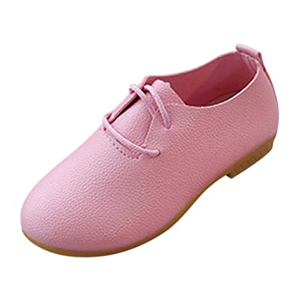 Amazon Princess Dress Shoes Girls Amiley Classic Solid Leather