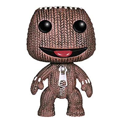 Funko POP Games: Little Big Planet Sack Boy Action Figure: Funko Pop! Games: Toys & Games