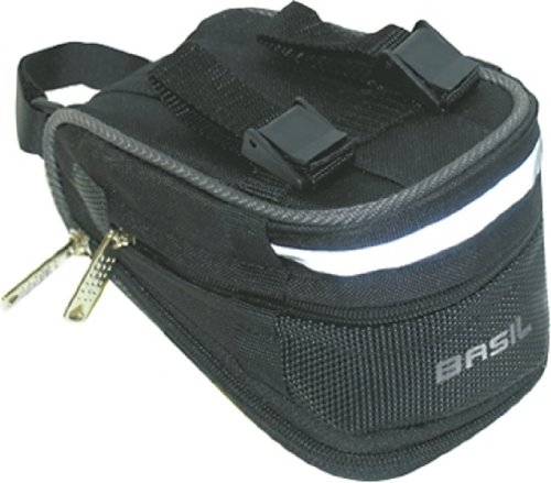 Bell Basil Mada Bicycle Seat Bag, Black by Basil (Image #1)