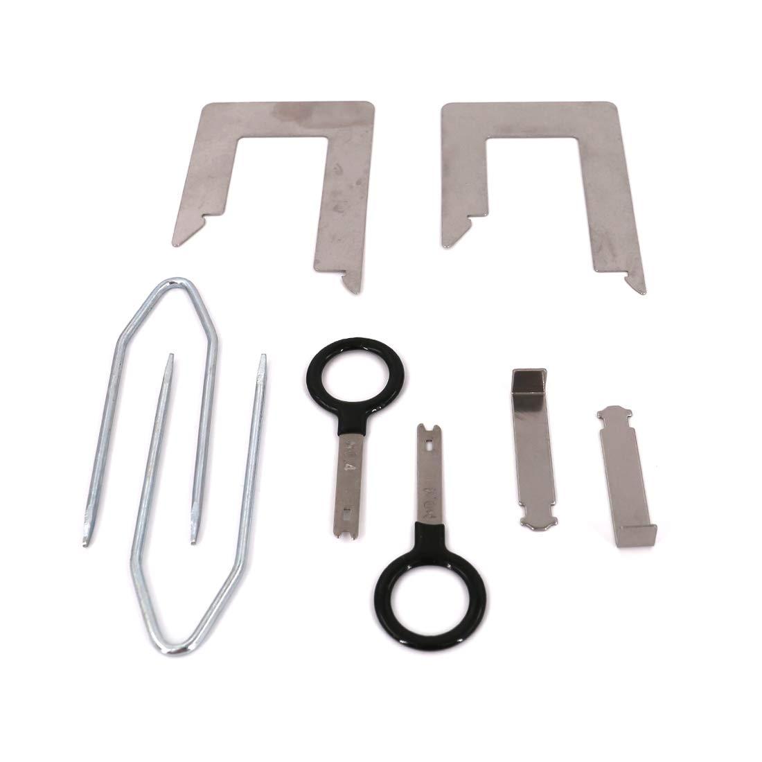 Upholstery & Trim Tools UTSAUTO 20 Pcs Radio Removal Tool Kit ...
