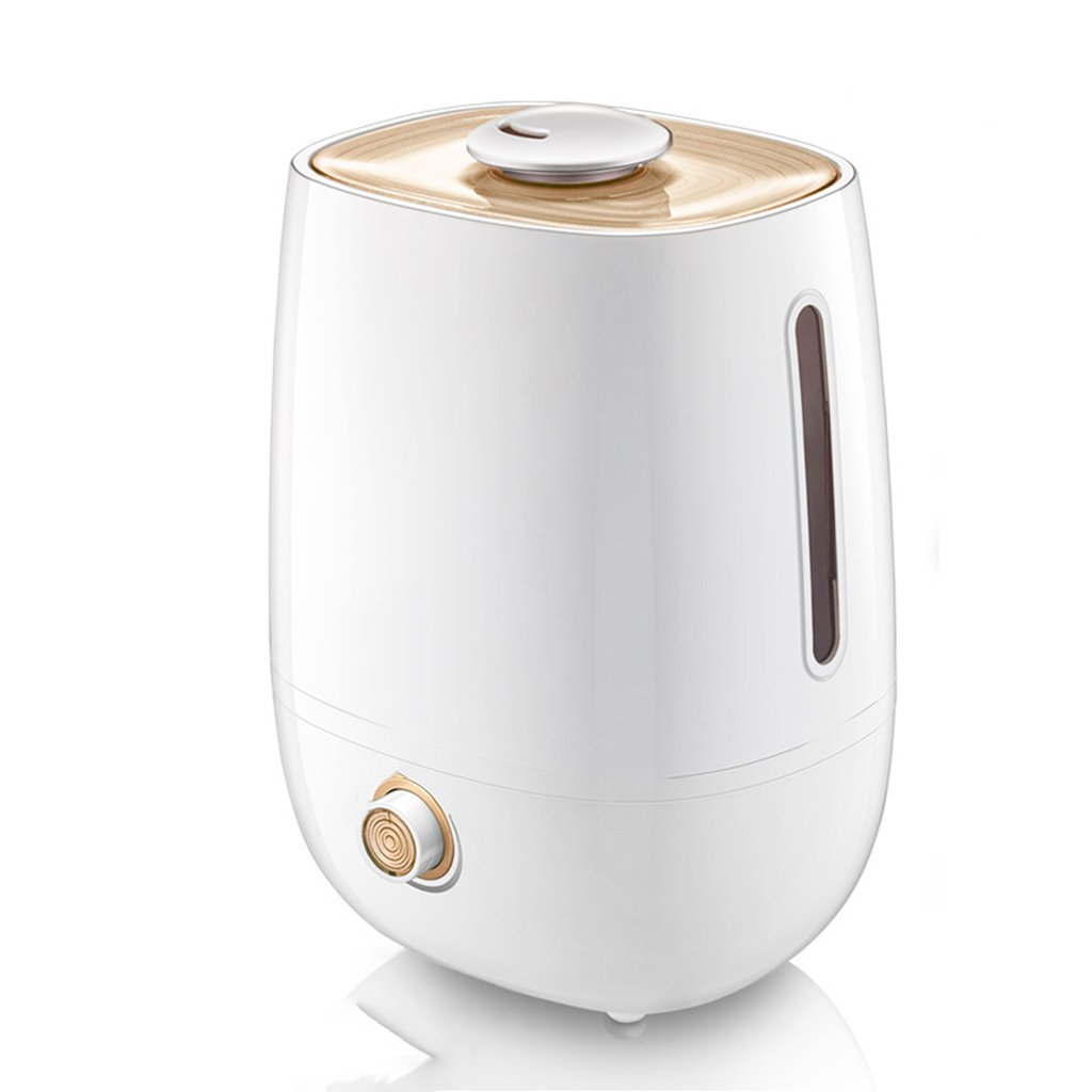 Chi Cheng Fang Electronic business A 5L White Humidifier Home Mute Bedroom Pregnant Women's Office Mini Small Purifying Air Mass Aromatherapy Machinelength 8.2 width 7.2 height 11.8 inches by Chi Cheng Fang Electronic business